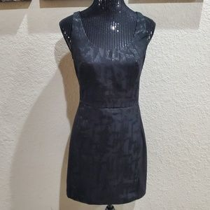 I HEART RONSON Black Sleeveless Dress LBD